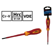 FIXTEC VDE Insulated Slotted Screwdriver
